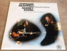STEPHANE GRAPPELLI*BARNEY KESSEL i remember django 1971 UK BLACK LION STEREO LP