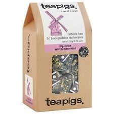 Teapigs Liquorice & Peppermint Tea 50 Temples Tea Bags - 2 PACK