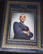 TIME PRESIDENT OBAMA, THE PATH TO THE WHITE HOUSE- EASTON PRESS