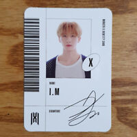 I.M Official Identity Card Monsta X Mini Album Follow - Find You Photocard IM