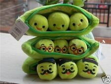 New Disney Store Toy Story Peas In A Pod Three Design Plush Stuffed Doll Set