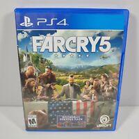 PS4 Farcry 5 (Sony Playstation 4 2018) No Manual