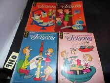 Gold Key The Jetsons lot of 4 books #9 #10 #13 and #20