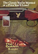 1975 Print Ad of Nikko The Golden Eagle Over Under Grade II Field Shotgun