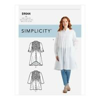 SIMPLICITY SEWING PATTERN S9044 MISSES TOPS WITH TUCKS R10423 SIZE 16-24 UNCUT