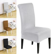 Cubiertas para sillas Removable Elástioc Desmontable Comedor Tela de pila Suave