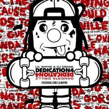 Lil Wayne - Dedication 4 Mixtape CD