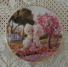 Precious Moments Limited Edition Classics Plate Collection Love One Another