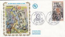 FRANCE 1969 FDC BAYARD YT 1617