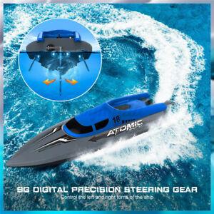 EACHINE High Speed RC Boot Ferngesteuertes Spielzeug Rennboot + 2 Akku