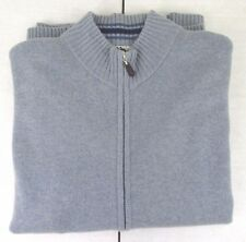 I Levrieri Made in Italy 100% Cashmere Sweater cardigan Full Zip Size M MIS#273