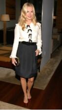 Authentic CHANEL $3,500 Ivory Bow Top Jacket - Size 40