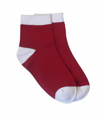 Boys' 100% Cotton Socks 2-16 Years