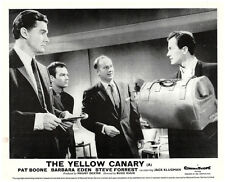 The Yellow Canary original lobby card Steve Forrest Pat Boone look at bag