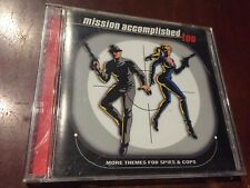MISSION ACCOMPLISHED, TOO: MORE THEMES FROM SPIES & COPS  - CD