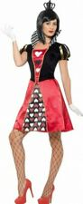 Carded Queen Of Hearts Costume Size 14-16 L
