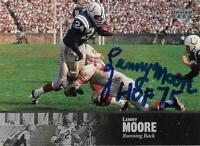 Lenny Moore Autographed Signed 1997 Upper Deck Baltimore Colts Card - HOF 1975