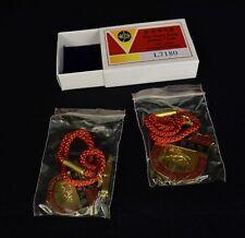 Royal Hong Kong Jockey Club Members Badge 1999 2000 Set New Ladies Pin Horse