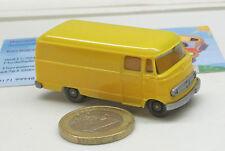 265/2d : MB L 319, Véhicule de livraison jaune