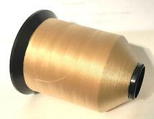 Gudebrod 4 oz Spool Tan (Camel) #290 Nylon Rod Winding Thread Size A 4800 Yd