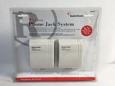(NEW) RadioShack Wireless Phone Jack System 43-160 Free Shipping