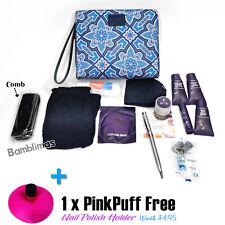 LIBERTY of London First Class British Airways WashBag / Amenity Kit + PinkPuff