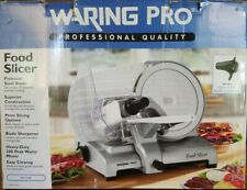 """New listing Waring Pro Food Slicer Fs1500 300wt 10"""" blade. Unopened, sold as is."""