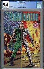 Terminator #1 CGC 9.4 NM WHITE PAGES