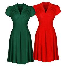 Markenlose Damenkleider aus Baumwollmischung in Größe XL