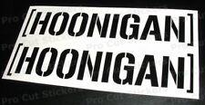 150mm (15cm) x 2 PICCOLO Hoonigan VINILE AUTO ADESIVI DECALCOMANIE BLOCCO KEN