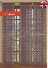 """Window / door net panel dark grapewine Single packed - 50cm x 230cm (20"""" x 91"""")"""