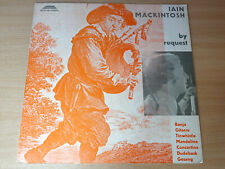 EX/EX- !! Iain MacKintosh/By Request/1974 Autogram LP + Booklet/German Issue
