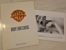 BODY SNATCHERS (1993) Press Kit Folder, Photos; Alien Invasion; Gabrielle Anwar