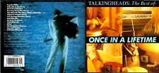 Talking Heads cd album - The Best Of, Once In A Lifetime