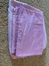 Lavender Polka Dot Full Sheet Set