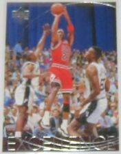 1996/97 Michael Jordan Upper Deck Excellence The Game in Pictures Card #165 NM