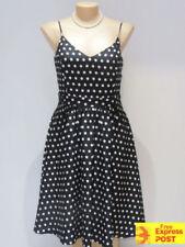 Plus Size Polka Dot Cocktail Dresses for Women
