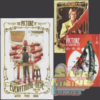 THE PICTURE OF EVERYTHING ELSE #1 Set of Three COVER A + B + C VARIANT Vault