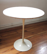 KNOLL INTERNATIONAL 1960er Saarinen coffee table blanc Ø 49,5 cm Tulip table