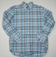 Vineyard Vines Men's Tucker Shirt Button Down Blue Plaid Size M Medium
