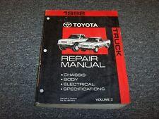 toyota pickup service manual ebay rh ebay ca 1992 toyota pickup repair manual 1992 toyota pickup parts manual