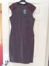 Ralph Lauren Ladies Wool Dress, Brown, Size S, Bnwot