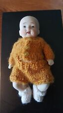Antique Bisque Doll with Jointed Arms and Legs