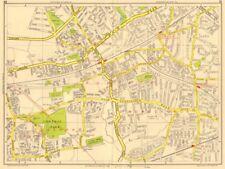 ROMFORD Hornchurch Dagenham Emerson Park Gidea Park. GEOGRAPHERS' A-Z 1956 map