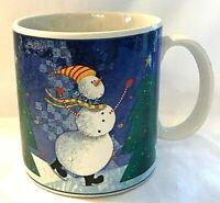 Sakura Snow Pals Ceramic Coffee Tea Mug Cup Zulauf Christmas Tree Snowman