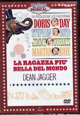 Dvd **LA RAGAZZA PIÙ BELLA DEL MONDO** con Doris Day nuovo 1962
