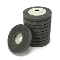 5Pcs 100mm Nylon Fiber Wheel Abrasive Polishing Buffing Disc Pad Angle Grinder