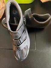 Shimano SH-RP300 SL Mens, US sz 12.3, EU 48, Black Cycle Shoes, EUC