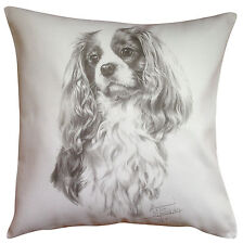 Cavalier King Charles Spaniel MS Dog Cotton Cushion Cover - Perfect Gift