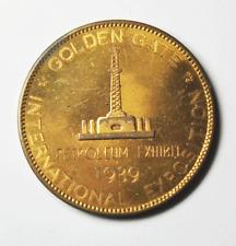 1939 Golden Gate International Exposition Petroleum Exhibit Bronze So Called